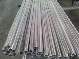 Low price and high quality titanium seamless tubes ASTM B338 Gr.5 packaged well.