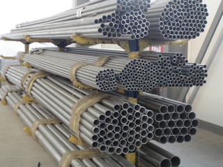 Manufacturer titanium seamless tubes ASTM B338 Gr.2 on sale.