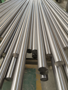 Manufacturer from China ASTM B348 Gr.2 cold rolled Titanium bars for sale.